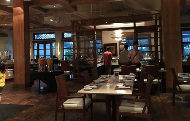 クリムゾンリゾート&スパマクタンの朝食ビュッフェ