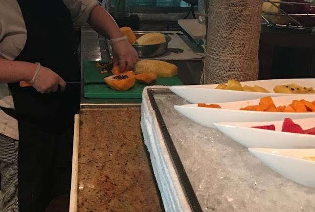 クリムゾンリゾート&スパマクタンの朝食ビュッフェ 2回目