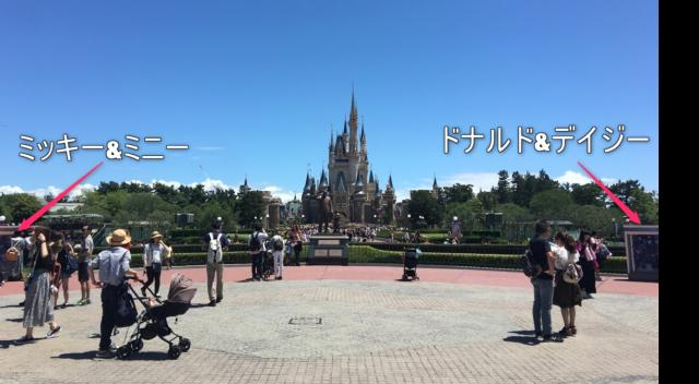ディズニー七夕デイズのデコレーション
