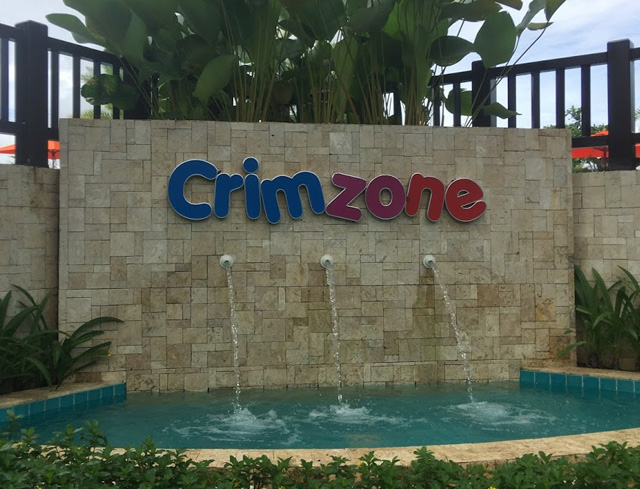 クリムゾンリゾート&スパマクタンのCrimzoneとビーチ[2018年1月セブ島・個人手配で新婚旅行]