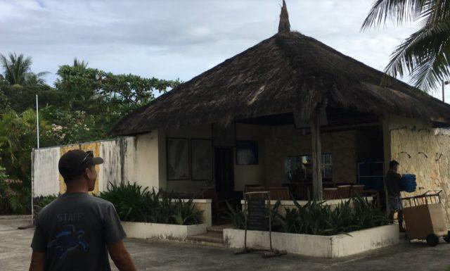 カビラオ島シュノーケリング講習