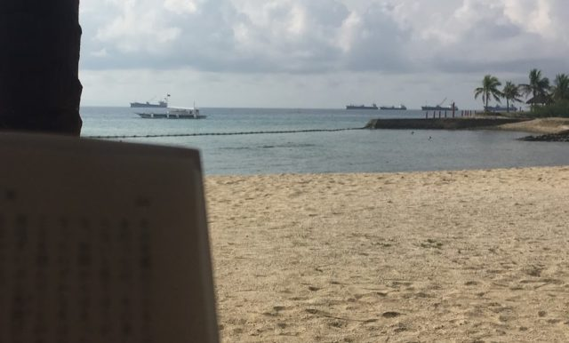 プルクラのプライベートビーチ