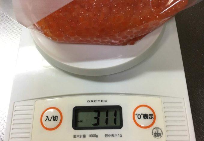 北海道産 秋鮭生筋子 2,162円
