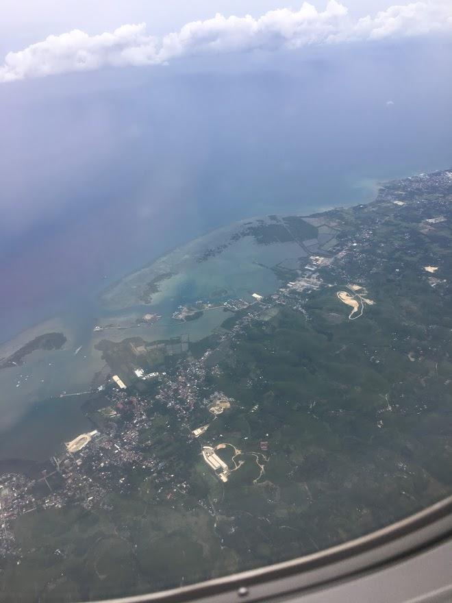 バニラエアから見たセブ島